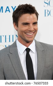 HOLLYWOOD, CA. - MAY 3: Colin Egglesfield arrives at the Los Angeles premiere of Something Borrowed at Grauman's Chinese Theatre on May 3, 2011 in Hollywood, California.