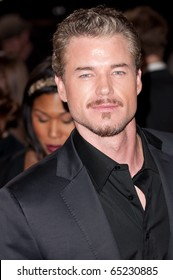 HOLLYWOOD, CA - NOVEMBER 15: Actor Eric Dane arrives to the premiere of the movie Burlesque at the Grauman's Chinese Theater, on November 15, 2010 in Los Angeles, CA