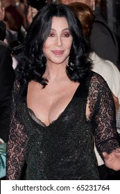 HOLLYWOOD, CA - NOVEMBER 15: Actress and singer Cher arrives to the premiere of the movie Burlesque at the Grauman's Chinese Theater, on November 15, 2010 in Los Angeles, CA