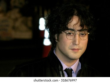 HOLLYWOOD, CA - NOVEMBER 16, 2004: Sean Lennon at the Los Angeles premiere of 'Alexander' held at the Grauman's Chinese Theater in Hollywood, USA on November 16, 2004.