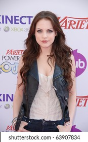 HOLLYWOOD, CA- OCTOBER 24: Actress Elizabeth Gillies attends the Variety's Power of Youth event at The Paramount Studios on October 24, 2010 in Hollywood, California.
