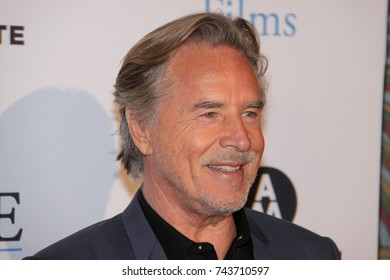 HOLLYWOOD, CA – SEPTEMBER 29, 2017: Don Johnson at a screening of 'Brawl in Cell Block 99' on September 29, 2017 in Hollywood, Ca.