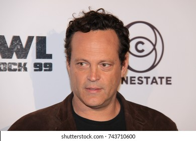 HOLLYWOOD, CA – SEPTEMBER 29, 2017: Vince Vaughn at a screening of 'Brawl in Cell Block 99' on September 29, 2017 in Hollywood, Ca.
