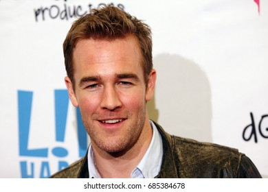 Hollywood, CA, USA; April 2, 2012; James Van Der Beek arrives to the premiere of 'L!fe Happens' in Hollywood, California.