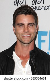 Hollywood, CA, USA; April 2, 2012; Colin Egglesfield arrives to the premiere of 'L!fe Happens' in Hollywood, California.