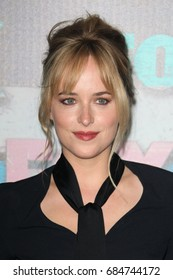 Hollywood, CA, USA; July 23, 2012; Dakota Johnson arriving to the FOX All Star Party in West Hollywood, California.