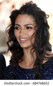 Hollywood, CA, USA; June 24, 2012; Camila Alves arriving to the premiere of 'Magic Mike' during the 2012 Los Angeles Film Festival.