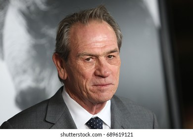 Hollywood, CA, USA; November 8, 2012;  Tommy Lee Jones  arrives to the premiere of Lincoln during the 2012 AFI Film Festival in Hollywood, California.