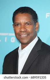 Hollywood, CA, USA; October 23, 2012; Denzel Washington arrives to the premiere of Flight in Hollywood, California.