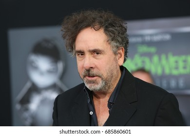 Hollywood, CA, USA; September 24, 2012;  Tim Burton arriving to the premiere of 'Frankenweenie' in Hollywood, California.