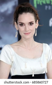 Hollywood, CA, USA; September 24, 2012;  Winona Ryder arriving to the premiere of 'Frankenweenie' in Hollywood, California.