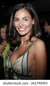"""HOLLYWOOD, CALIFORNIA. April 17, 2006. Ines Sastre attends the Los Angeles Premiere of """"The Lost City"""" held at the Arclight Cinemas in Hollywood, California United States."""