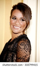 HOLLYWOOD, CALIFORNIA - April 20, 2012. Lea Michele at the 17th Annual Taste For A Cure Gala held at the Beverly Wilshire Four Seasons Hotel, Los Angeles.
