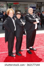 "HOLLYWOOD, CALIFORNIA - April 7, 2012. Sean Hayes, Chris Diamantopoulos and Will Sasso at the Los Angeles premiere of ""The Three Stooges"" held at the Grauman's Chinese Theater, Los Angeles."