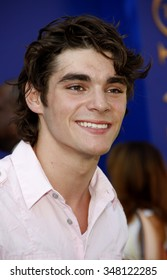 """HOLLYWOOD, CALIFORNIA - August 27, 2011. RJ Mitte at the World premiere of """"The Lion King 3D"""" held at the El Capitan Theater, Los Angeles."""