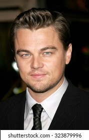 HOLLYWOOD, CALIFORNIA. December 6, 2006. Leonardo DiCaprio at the Los Angeles premiere of 'Blood Diamond' held at the Grauman's Chinese Theatre in Hollywood, USA on December 6, 2006.