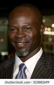 HOLLYWOOD, CALIFORNIA. December 6, 2006. Djimon Hounsou at the Los Angeles premiere of 'Blood Diamond' held at the Grauman's Chinese Theatre in Hollywood, USA on December 6, 2006.