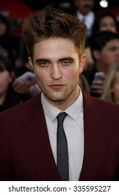 """HOLLYWOOD, CALIFORNIA - June 24, 2010. Robert Pattinson at the """"The Twilight Saga: Eclipse"""" Los Angeles premiere held at the Nokia Live Theater, Los Angeles."""