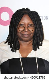Hollywood, California; March 2, 2014; Whoopi Goldberg arrives to Elton John AIDS Foundation Presents 22nd Academy Awards Viewing Party.