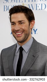 "HOLLYWOOD, CALIFORNIA - May 3, 2011. John Krasinski at the Los Angeles premiere of ""Something Borrowed"" held at the Grauman's Chinese Theater in Los Angeles."
