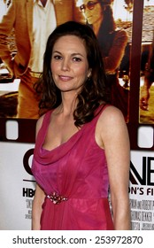 """HOLLYWOOD, CALIFORNIA - Monday April 11, 2011. Diane Lane at the Los Angeles premiere of """"Cinema Verite"""" held at the Paramount Pictures Studios in Los Angeles."""
