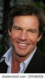 """HOLLYWOOD, CALIFORNIA. November 20, 2005. Dennis Quaid at the """"Yours, Mine, and Ours"""" Los Angeles Premiere at the Cinerama Dome in Hollywood, California United States."""