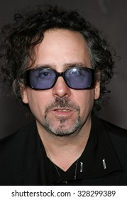 "HOLLYWOOD, CALIFORNIA. October 16, 2006. Tim Burton attends the World Premiere of ""The Nightmare Before Christmas 3D"" held at the El Capitan Theatre in Hollywood, California United States."