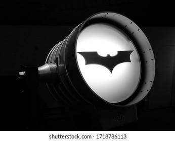 Hollywood, California / USA - 03 16 2018: Batman