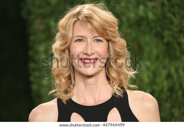 Hollywood, California, USA; February 24, 2013; Laura Dern attends the 2013 Vanity Fair Oscar Party at the Sunset Towers in Hollywood, California.