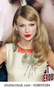 Hollywood, California, USA; September 24th, 2013; Taylor Swift arrives to the premiere of 'Romeo & Juliet'.