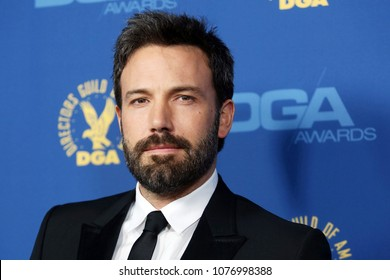 Hollywood, CA/USA; February 2, 2013; Ben Affleck arrives to the 65th Annual DGA Awards in Hollywood, California.