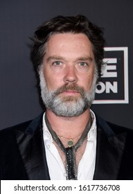 """HOLLYWOOD, CA/USA - JAN 4 2020:  Rufus Wainwright arrives to The Art of Elysium 13th Annual Black Tie Artistic Experience """"HEAVEN"""" on January 4, 2020 in Hollywood, CA"""