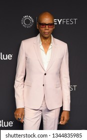 """Hollywood, CA/USA - March 17, 2019: Rupaul Charles attends the PaleyFest  """"Rupaul's Drag Race"""" event at the Dolby Theater."""