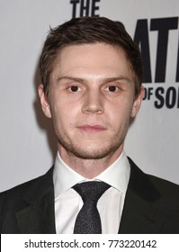 "HOLLYWOOD - Dec 6:  Evan Peters arrives to  ""The Pirates Of Somalia"" Los Angeles Premiere  on December 6, 2017 in Hollywood, CA"