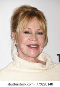 "HOLLYWOOD - Dec 6:  Melanie Griffith arrives to  ""The Pirates Of Somalia"" Los Angeles Premiere  on December 6, 2017 in Hollywood, CA"
