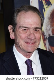 "HOLLYWOOD - DEC 7:  Tommy Lee Jones arrives to the ""Just Getting Started"" Los Angeles Premiere  on December 7, 2017 in Hollywood, CA"