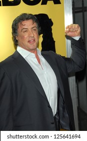 """HOLLYWOOD - DECEMBER 13: Sylvester Stallone at the world premiere of """"Rocky Balboa"""" on December 13, 2006 at Grauman's Chinese Theatre, Hollywood, CA."""