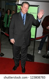 """HOLLYWOOD - DECEMBER 14: Al Gore at the party celebrating the winner of Current TV's """"Seeds of Tolerance"""", Arclight Hollywood December 14, 2006 in Hollywood, CA"""