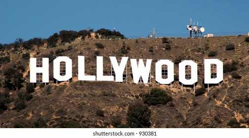 Hollywood hillside sign
