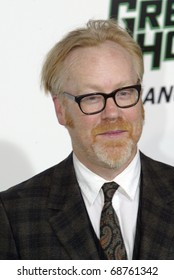 """HOLLYWOOD - JAN. 10:  Adam Savage arrives at the """"The Green Hornet"""" premiere at Grauman's Chinese Theatre on Jan. 10, 2011 in Hollywood, CA."""