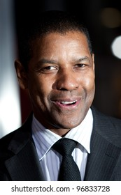 HOLLYWOOD - JAN 11: Denzel Washington arrives at the 'The Book of Eli' Los Angeles Premiere on January 11 2009 in Hollywood, CA
