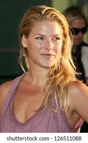 "HOLLYWOOD - JULY 11: Ali Larter at the premiere of ""Clerks ll"" at Arclight Cinemas July 11, 2006 in Hollywood, CA."