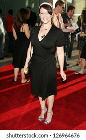 """HOLLYWOOD - JULY 11: Meredith Salenger at the premiere of """"Clerks ll"""" at Arclight Cinemas July 11, 2006 in Hollywood, CA."""