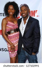 """HOLLYWOOD - JULY 19: Vanessa Williams and Romany Malco at the season two premiere of """"Weeds"""" at Egyptian Theatre on July 19, 2006 in Hollywood, CA."""