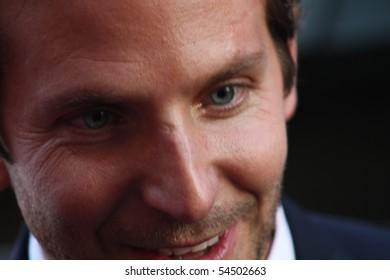 HOLLYWOOD - JUNE 3, 2010: Actor Bradley Cooper at the premiere on the A-Team movie at Grauman's Chinese Theatre on June 3, 2010 in Hollywood, California.