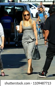 HOLLYWOOD - JUNE 5: Businesswoman/actress Jennifer Lopez arrives for an appearance on Jimmy Kimmel Live! June 5, 2018 Hollywood, CA.