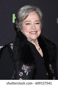 HOLLYWOOD - MAR 26:  Kathy Bates arrives to the PaleyFest 2017: American Horror Story: Roanoke  on March 26, 2017 in Hollywood, CA