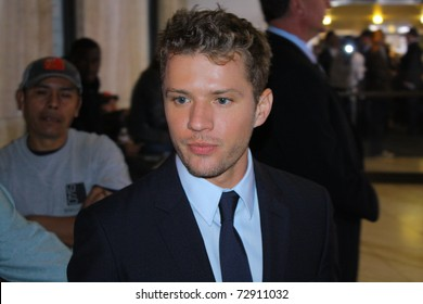 """HOLLYWOOD - MARCH 10: Actor Ryan Philippe at the premiere of the movie """"The Lincoln Lawyer"""" at the Cinerama Dome on March 10, 2011 in Hollywood, CA."""