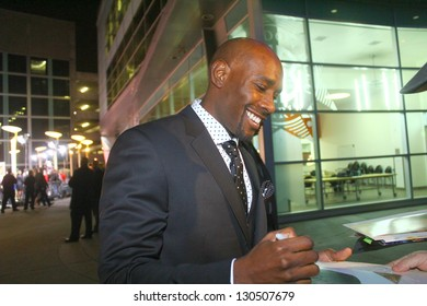 """HOLLYWOOD - MARCH 5: Actor Morris Chestnut attends premiere for """"The Call"""" March 5, 2013 at the Arclight Theatre Hollywood, CA."""