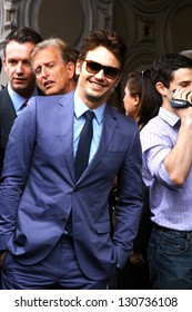 HOLLYWOOD - MARCH 7: Actor James Franco attends Walk of Fame ceremony where he received a star March 7, 2013 Hollywood, CA.